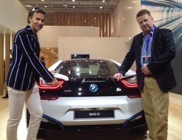 Alec Arho Havrén, Risto Rantala and BMW i8