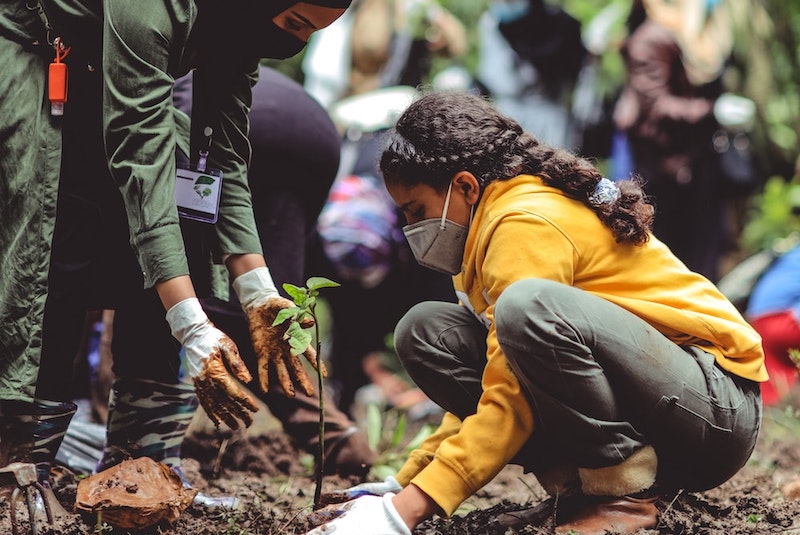 Education for Planting Trees, Kahssay